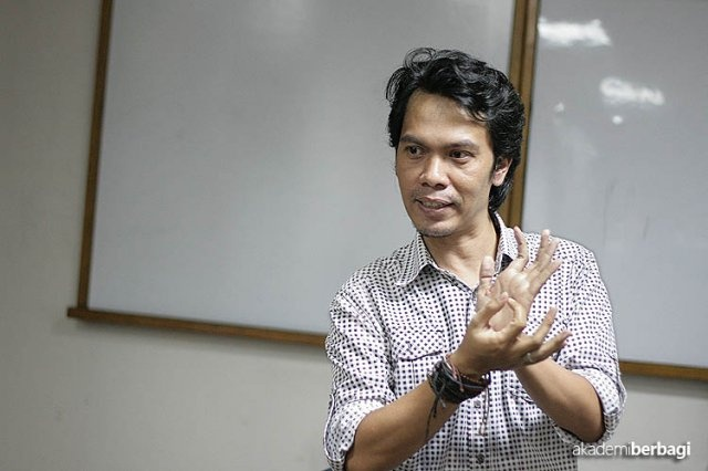 Guru Diki Umbara at Akber Jakarta