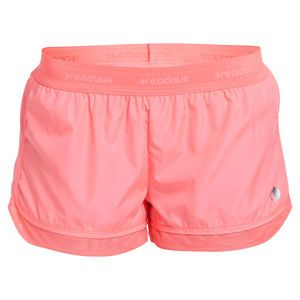 ONE active by Michelle Bridges Mesh Trim Short - Sizes 8-16. This style features a drawstring waist, back zip coin pocket as well as a built in mesh brief for comfort.