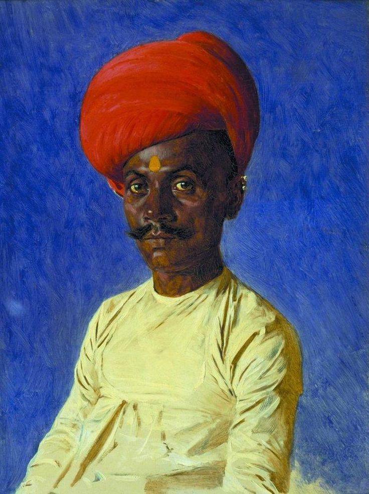 Vasily Vereshchagin (Russian, 1842-1904) - Bania...