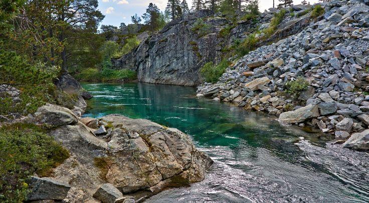 Skały, Kamienie, Rzeka