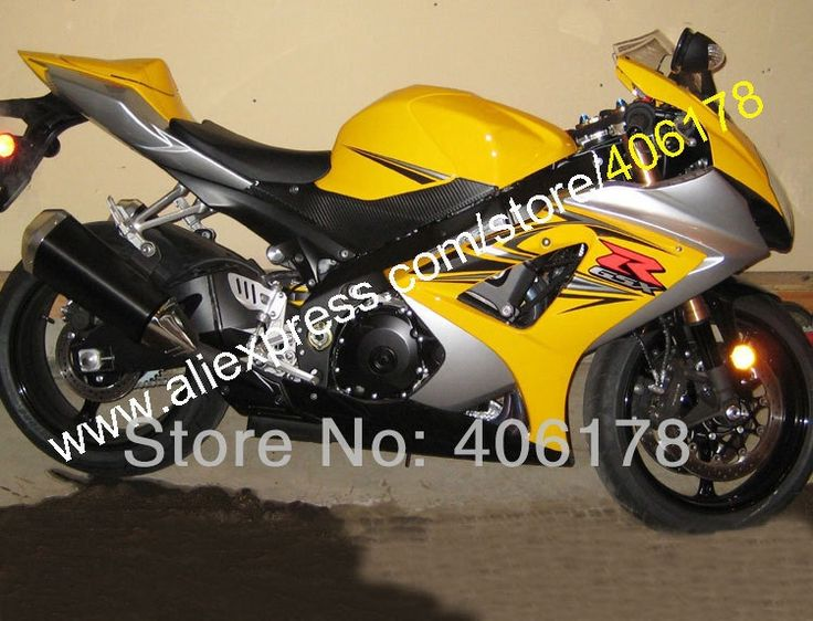 436.05$  Buy now - http://alil4i.worldwells.pw/go.php?t=1730191866 - Hot Sales,Custom race fairing for SUZUKI 2007 2008 GSXR 1000 07 08 Yellow K7 aftermarket motorcycle parts (Injection molding) 436.05$