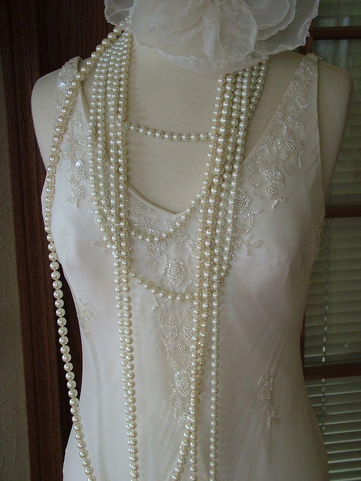 25 Best Ideas About Flapper Wedding Dresses On Pinterest