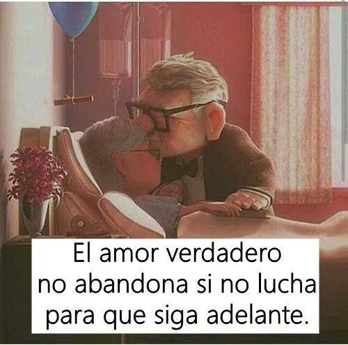 el amor verdadero no abandona