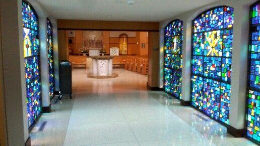 St. Monica Catholic Church vestibule Dallas, Texas