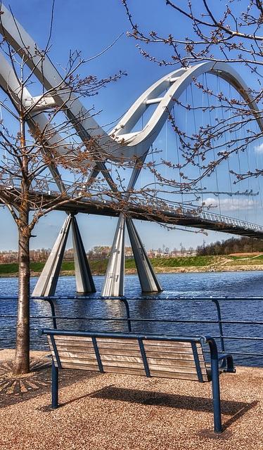 Stockton on Tees, infinity Bridge