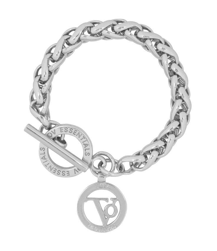 De+Small+Spiga+Bracelet+van+TOV+Essentials+is+een+elegante+statement+piece.+De+ronde+schakels+onderscheiden+zich+van+de+klassieke+gourmet+schakels+wat+een+uniek+effect+geeft.+De+armband+sluit+met+een+t-bar+en+TOV+Essentials+closure+ring.+Draag+de+armband+met+de+bijpassende+TOV+Essentials+accessoires+voor+een+complete+look!