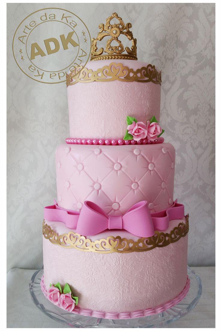 Princess cake - Bolo Princesa                                                                                                                                                                                 Mais
