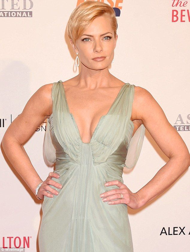 Costly mistake? It seems Jaime Pressly did not turn her alarm on on the night she was the victim of a $30,000 burglary