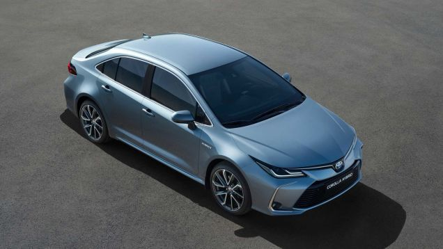 The 2020 Toyota Corolla Hybrid Gets Prius Fuel Economy Without