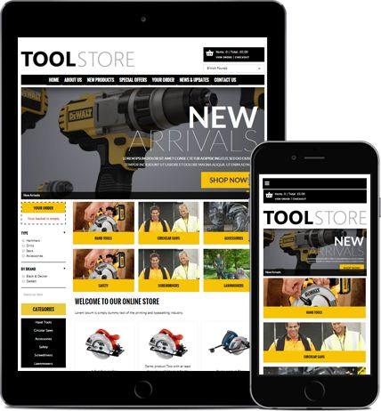 Free eCommerce websites. Online store builder