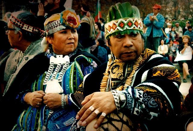 Pueblo Mapuche, Chile.