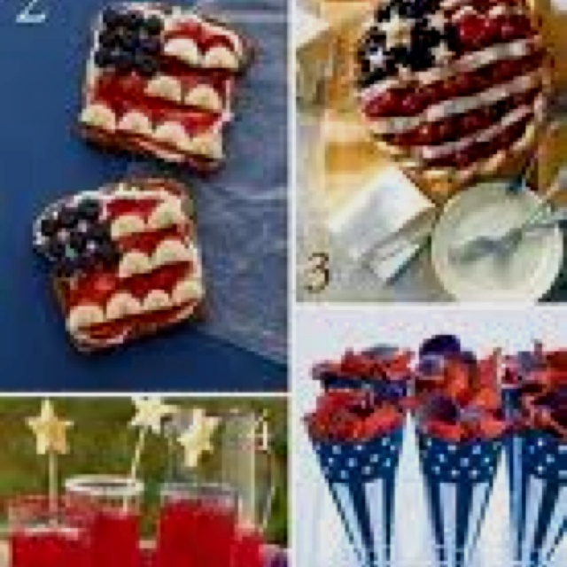 Fourth of july food ideas fun holiday ideas pinterest for July 4th food ideas