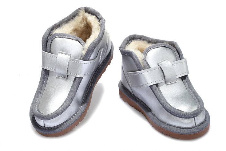 Kids UGG Boots 5998 Silver AAA