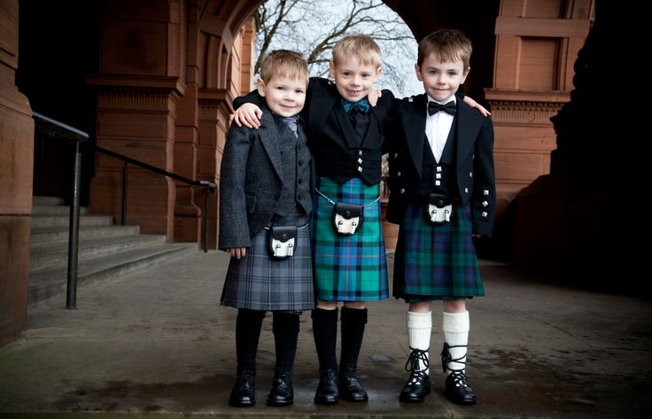 Child and Baby Kilt Hire | Bare Knees - kilt maker and child kilt hire