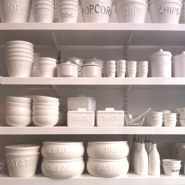 Want all these white ceramic dishes! @ Bruka Design