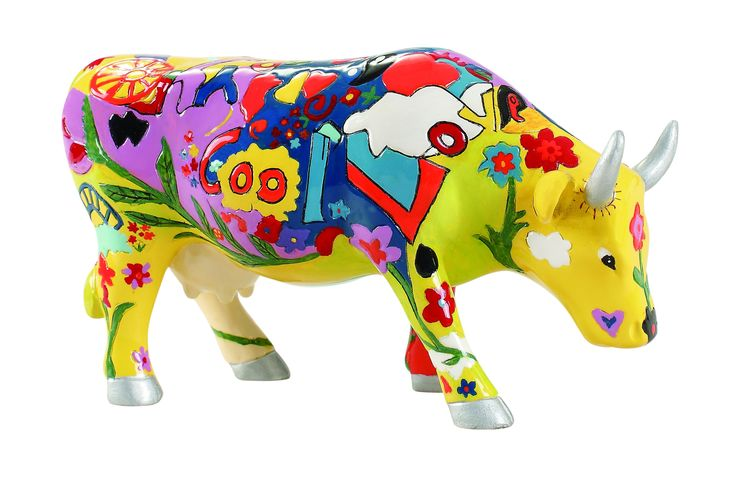 Cow Parade - Groovy Moo
