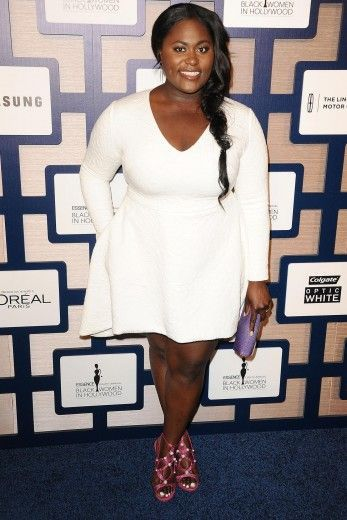Danielle Brooks http://stylishcurves.com/shondra-rhimes-raven-goodwin-danielle-brooks-and-niecy-nash-at-essence-black-women-in-hollywood-event/
