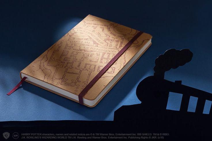 J・K・ローリングの想像力から生まれたファンタスティック・ビースト、魔法の呪文、空飛ぶほうき、そして魔法使いたちが #モレスキン ノートブックに蘇ります。限定版「ハリー・ポッター」ノートブック