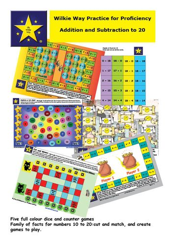 Practice for Proficiency: Addition & Subtraction  to 20