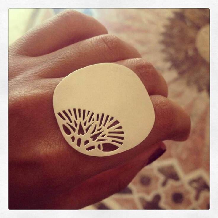 Azza Fahmy Lotus Ring