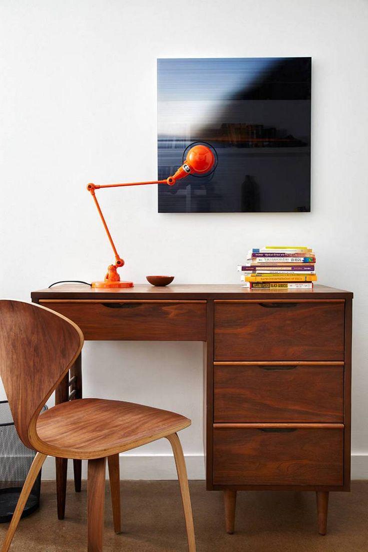 Best 25+ Dark wood desk ideas on Pinterest | Office rental space, Home  office and Desk