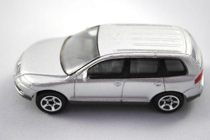 Detailed RealToy Special VW TOUAREG 5 Door in Metallic Silver Colour VGC #REALTOY