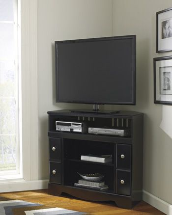 Shay Corner TV Stand By Signature · Entertainment WallEntertainment ...