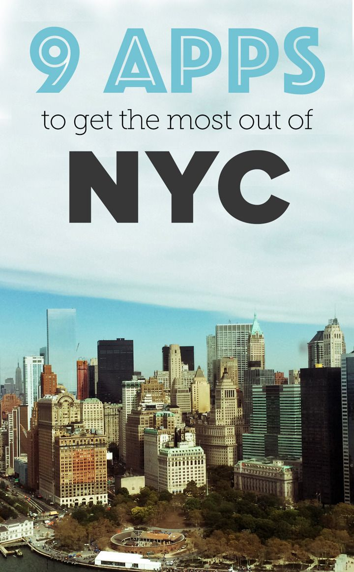 New York City can be overwhelming, but these apps will help.