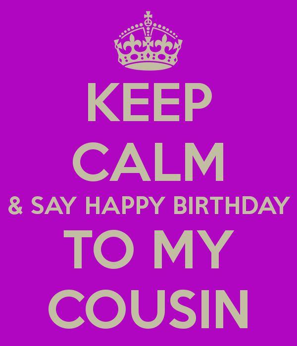 Happy Birthday Cousin Quotes Captivating 76 Best Happy Birthday Cousin Images On Pinterest  Birthdays Happy . Design Ideas
