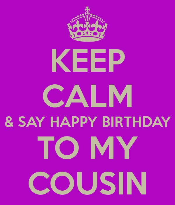 25 best ideas about Happy Birthday Beautiful Cousin – What to Say in a Happy Birthday Card