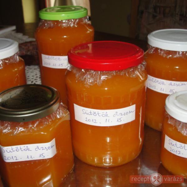 Narancsos-citromos sütőtök dzsem
