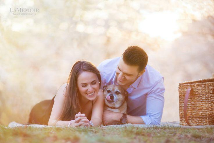 #Wedding #Photographer #Toronto #LaMemoir #Moment #Love #Couple #Engagement #Outdoor #Natural #Picnic #WeddingPhoto #Dog #Puppy
