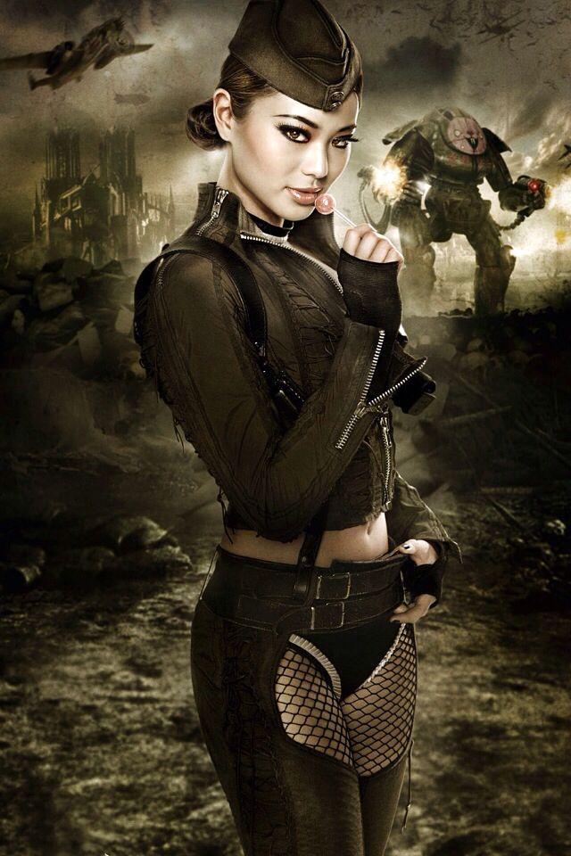 Dieselpunk:  #Dieselpunk fashion. | Raddest Her Looks On The Internet: http://www.raddestshe.com