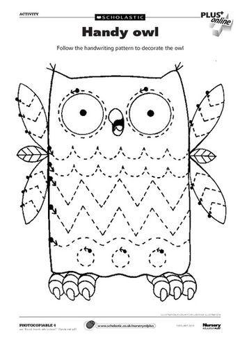 toddler tracing - free worksheet | Preschool worksheets ...