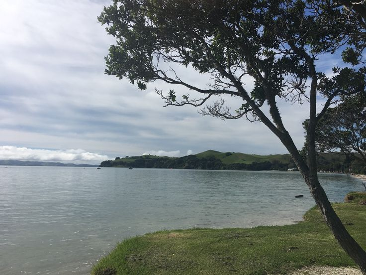Cycling past Maraetai NZ & they are having an Ironmaori here!    what a coincidence! Beautiful coast! #ironmantraining #cycling