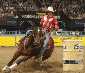 It's #WranglerNFR time and Mary Walker, Barrel Racer, is cleaning house. From losing her son to winning four rounds and taking the lead in the overall WPRA Barrel Racing standings - it couldn't be happening to a more deserving woman. See her story here: http://marywalkerbarrelracing.com/#