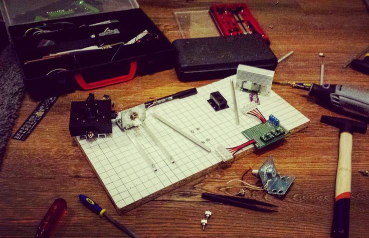 Few hours of work left. Cant wait to show you first pictures from my microscope!  Working on the floor my desk isnt big enough :( #microscopy #mikroskop #diy #diyelectronics #workbench #electronics #mechatronics #mechanics #homemade #precision #drill #laser #photodiode #steppermotor #drivers #tools #studies #pcb #soldering #PG #work #project #handmade #thesis #engineer #engineering