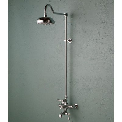 Strom Plumbing by Sign of the Crab Thermostatic Exposed Shower Set with Lever Handle Finish: