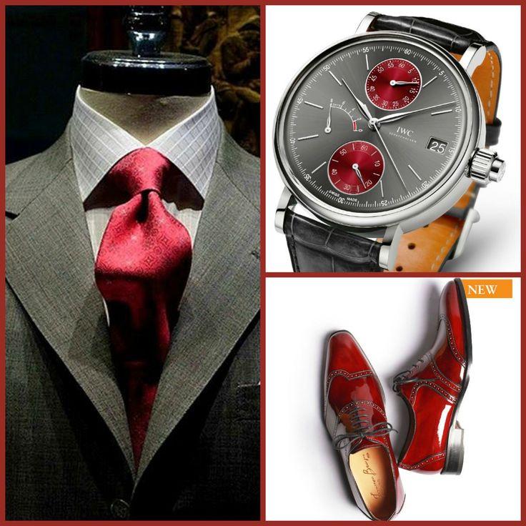Daniel George(Suit)-IWC(Watch)-Francesco Benigno(Shoes)