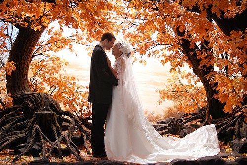 reason for a fall wedding-- pictures! meghann_naber