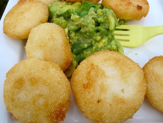 Fried Arepitas with Guacamole | Cooking | Pinterest
