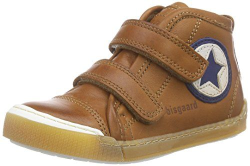 Bisgaard Velcro shoes, Unisex-Kinder Hohe Sneakers, Braun (66 Cognac), 34 EU - http://on-line-kaufen.de/bisgaard/34-eu-bisgaard-velcro-shoes-unisex-kinder-hohe-5