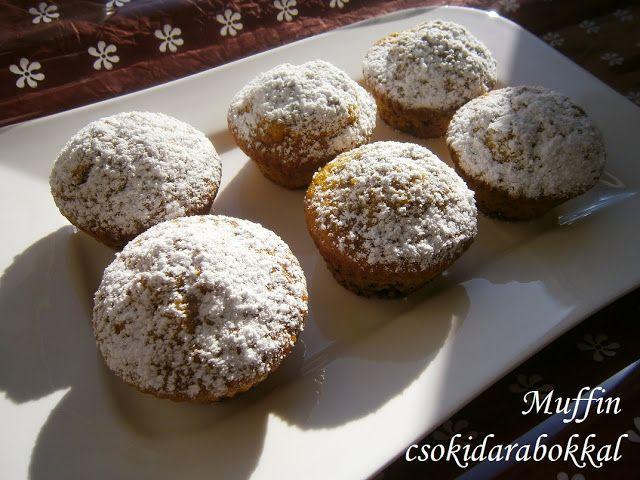 Hankka: Muffin csokidarabokkal