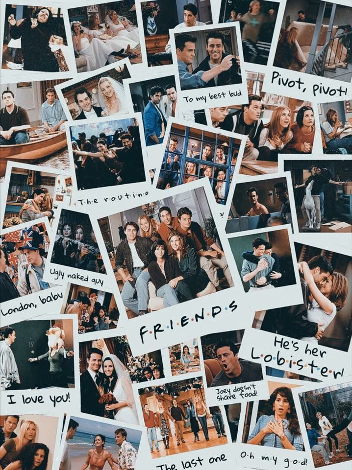 Make A Lot Of Memories With Friends Friends Episodes Friends