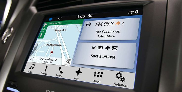 how to use Ford SYNC 3