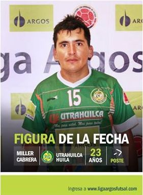 Un gol definitivo, movilidad y rotación para #UtrahuilcaHuila en el triunfo importante frente a #SanpasBoyaca. Así se destacó Miller Cabrera, la figura de la fecha 13. #FútbolRevolucionado