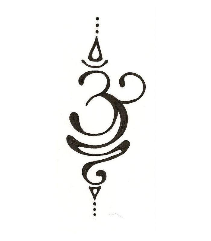 Индийские татуировки хной на теле