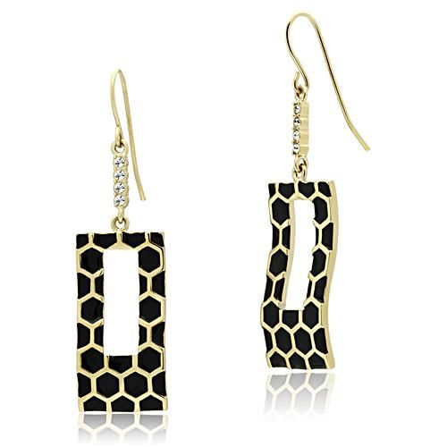 Gold Lust Earrings $25.00