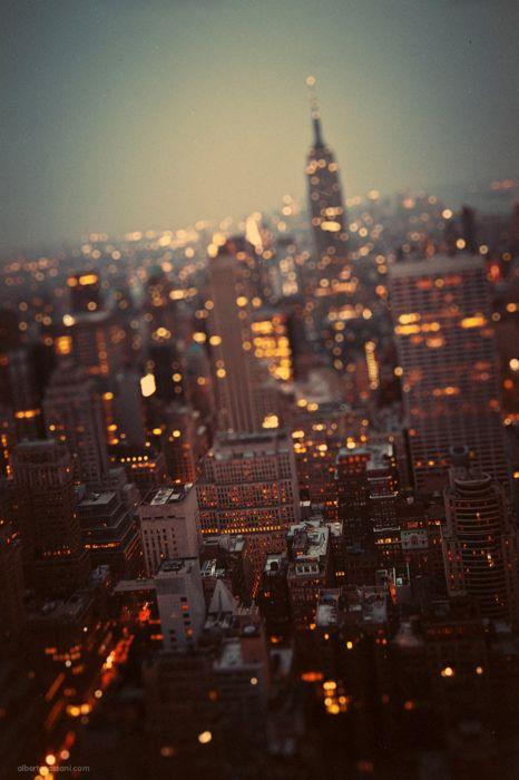 NYCity of lights on MILTON-FIRENZE