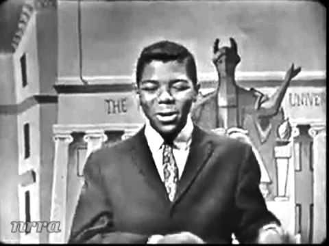 "Frankie Lymon ""Little Bitty Pretty One"" Saturday Night Beech-Nut Show. August 13, 1960. Re-posted by request. Correct audio and no gray bar."